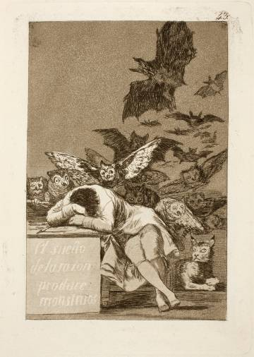 The dream of reason produces monsters (1797-1799).