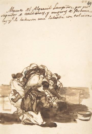 'Revenge against Sheriff Lampiños' (1812-20).