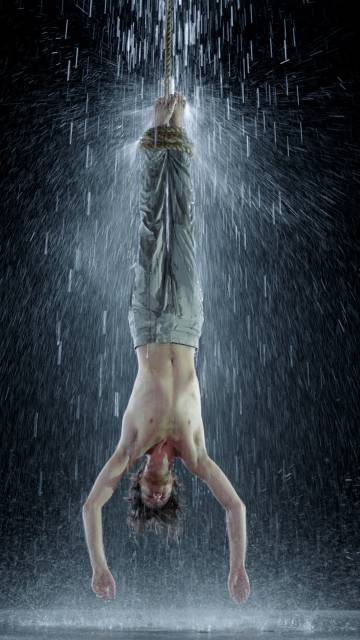 'Mártir del agua', from the series 'Mártires' (2014) by Bill Viola.