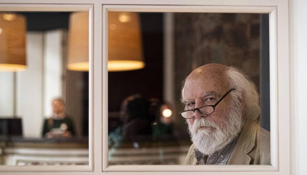 Juan Sasturain, escritor y nuevo director de la Biblioteca Nacional de Buenos Aires.