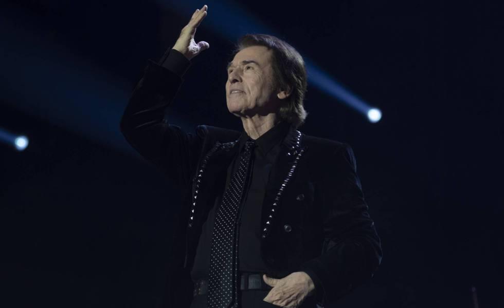 Raphael, durante un concierto en Madrid en diciembre pasado.