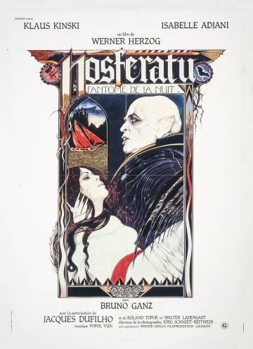 French poster of 'Nosferatu' (1979), by Werner Herzog.