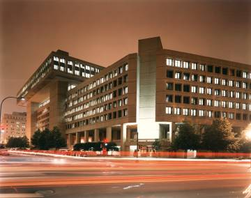 The headquarters of the FBI, in Washington.