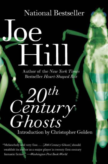Cover of '20th Century Ghosts', the first collection of stories from 'Joe Hill'.