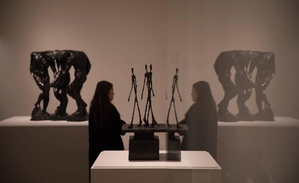 Dibujos y esculturas de amor vulnerado