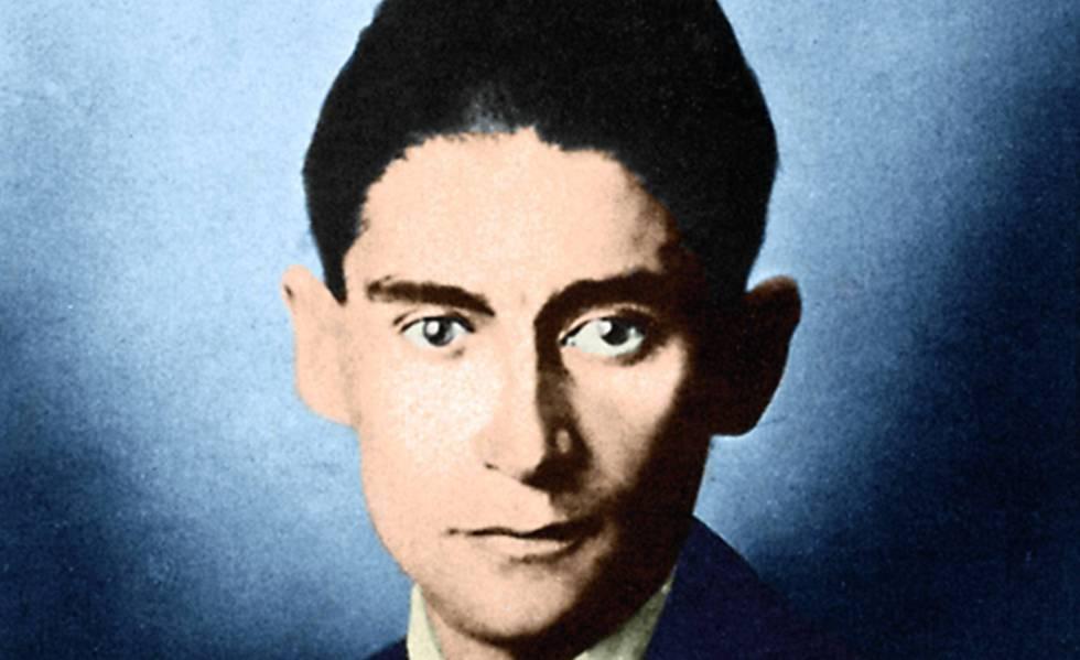 Franz Kafka, en una fotografía tomada en la primera década del siglo XX.