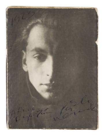 Photograph by Pablo Neruda from 1923, another piece of the auction.