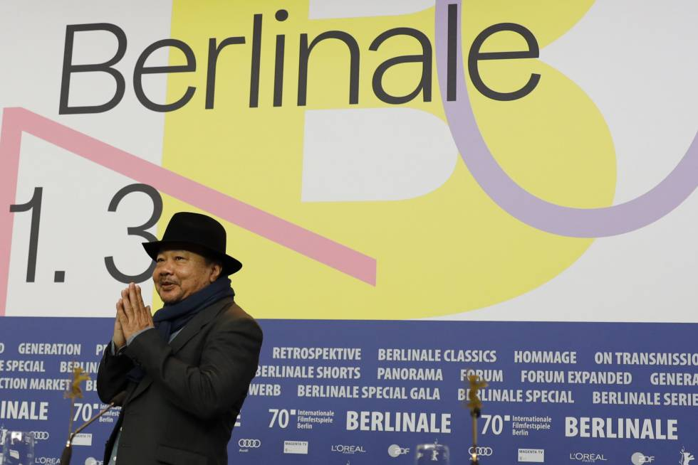 Rithy Panh, in the Berlinale.
