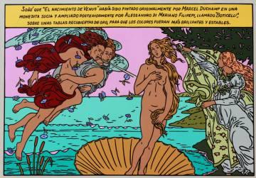 'Venus Birth', by Álvaro Barrios (2018).