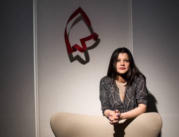 Michelle Roche Rodríguez, author of 'Malasangre' (Anagrama)