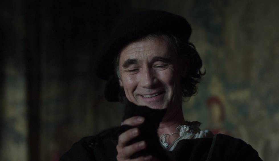 Mark Rylance as Thomas Cromwell in the series 'Wolf Hall'
