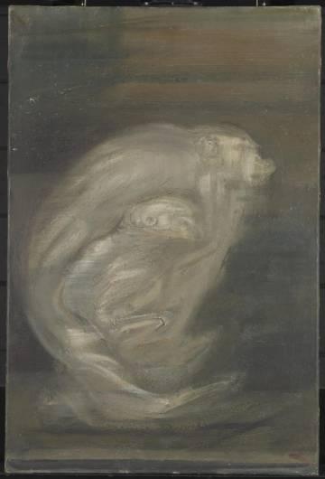 El cuadro 'Badoon and child' (1964), de Isabel Rawsthorne.