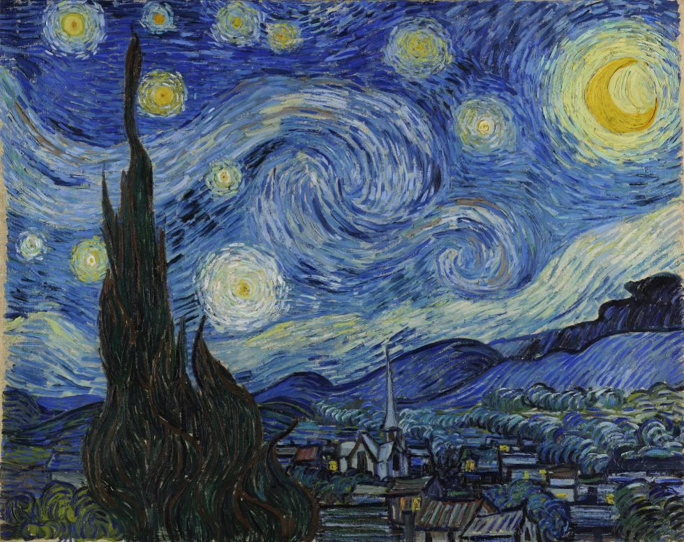Van Gogh y el paisaje más famoso