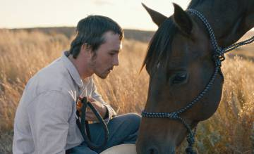 An image from 'The Rider' by Chloé Zhao.