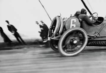 'El Grand Prix de Francia, circuito de Dieppe, Normandía' (1912).