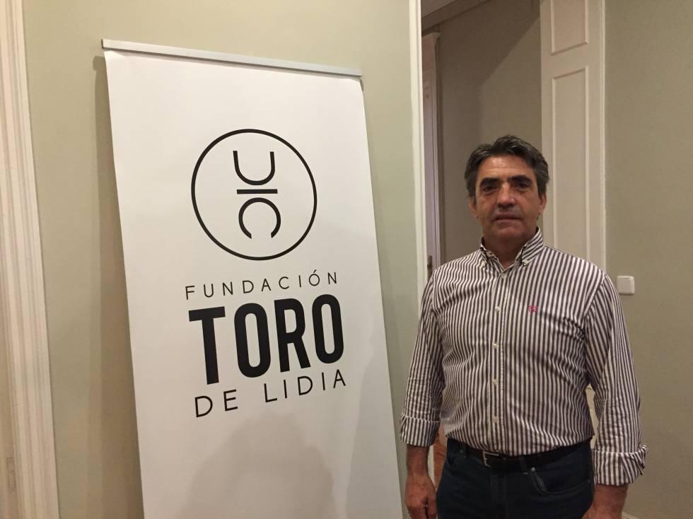 Victorino Martín, ganadero y presidente de la Fundación del Toro de Lidia.