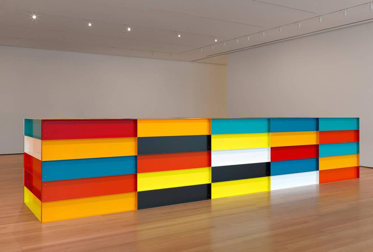 Donald Judd, minimalismo virtual