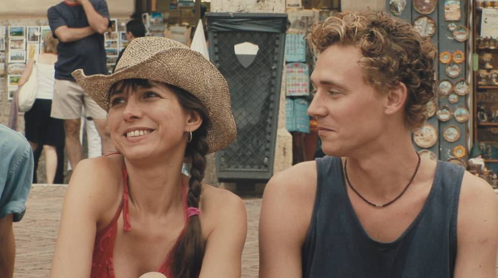 Kathryn Worth and Tom Hiddleston, in 'Unrelated'.