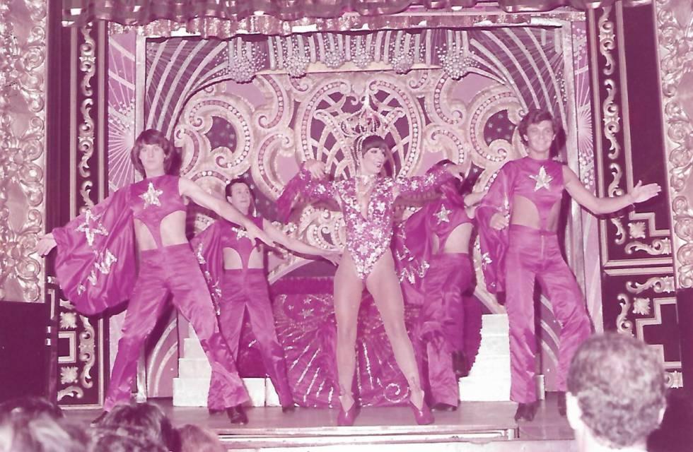 La Maña, in a performance at El Molino in 1982.