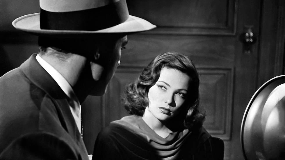 Gene Tierney en 'Laura' de Otto Preminger (1944).