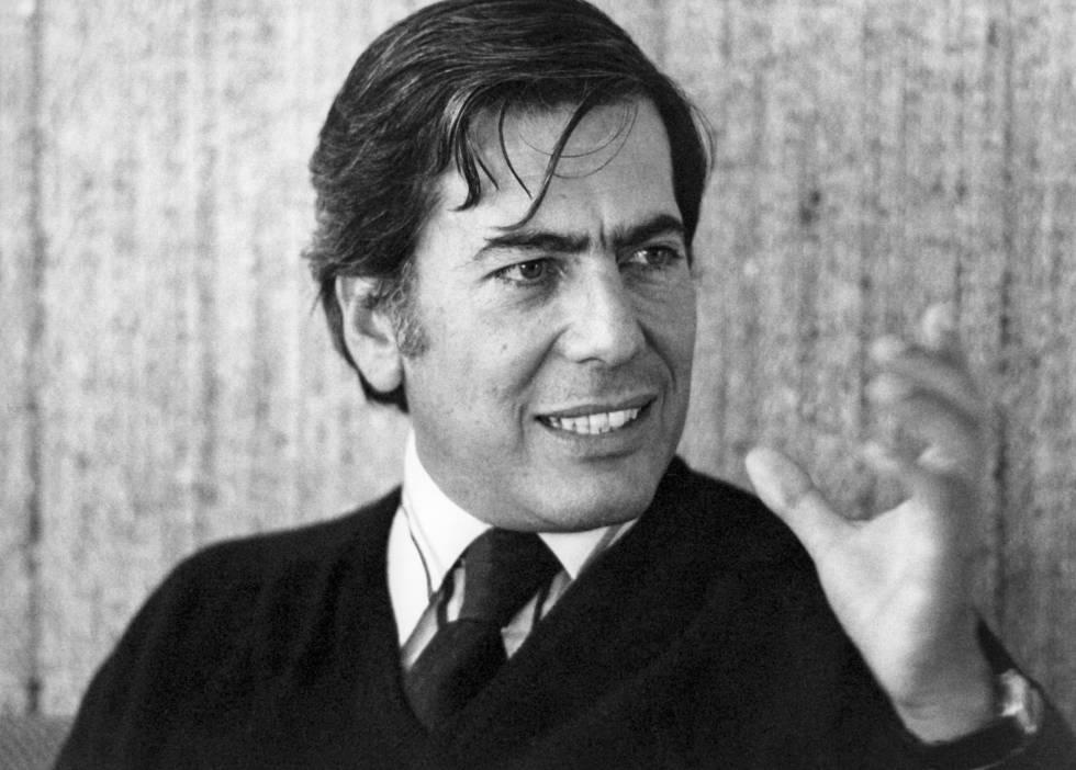 Mario Vargas Llosa, en enero de 1980.