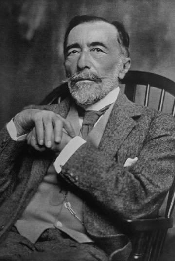 Joseph Conrad en 1919.