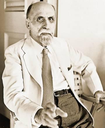 Juan Ramón Jiménez en 1951.