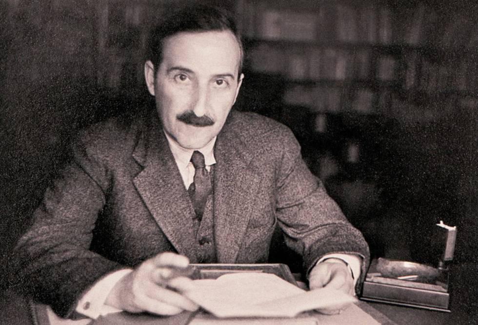 El escritor austriaco Stefan Zweig, en una imagen no fechada.