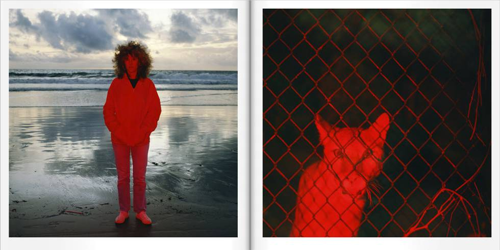 A diptych of the book 'Chroma'.