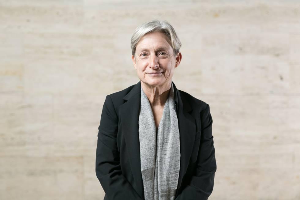 La filósofa estadounidense Judith Butler, durante una visita a Barcelona en 2018.