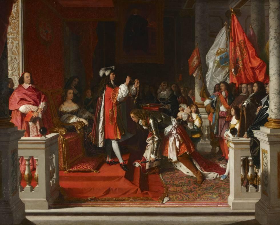 'Philip V imposing the Golden Fleece on the Duke of Berwick' (1817), by Jean-Auguste-Dominique Ingres.