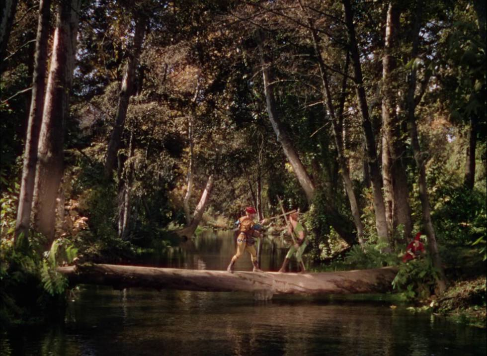 Fotograma de 'Robin de los bosques' (1938).