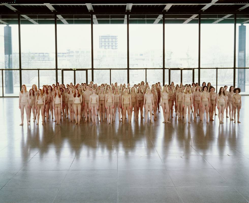 Vanessa Beecroft's 'VB55 Performance' (2005).