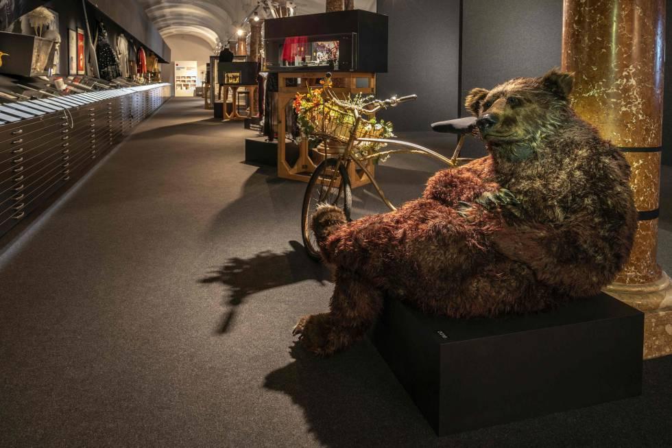 Detalle de la exposición conmemorativa del centenario del Festival de Salzburgo.