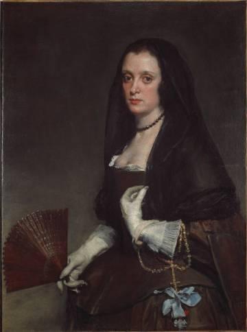 'La dama del abanico', by Velázquez.