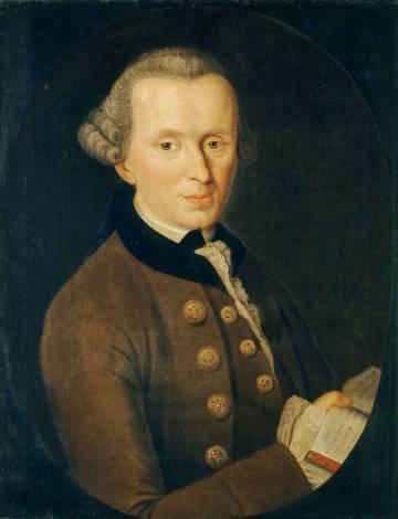 'Immanuel Kant' (1768), by Johann Gottlieb Becker.