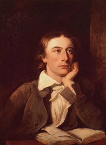 John Keats, drawn by William Hilton.