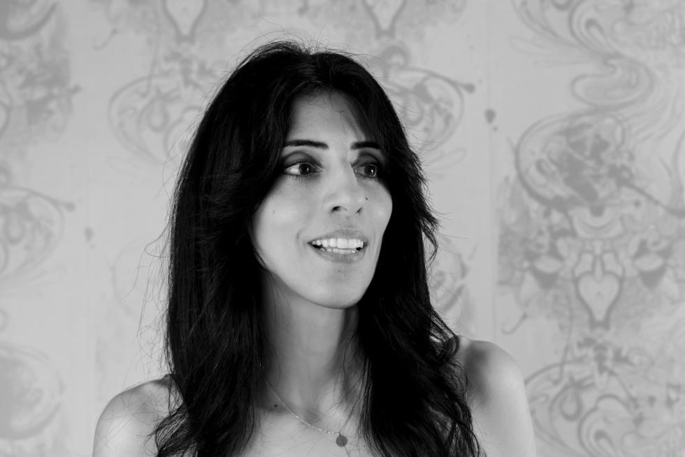 The director Ainhoa Rodríguez.