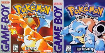 Pokémon Red and Blue, the first versions that arrived in Europe.