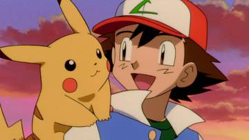 Pikachu and Ash, two of the great icons of the franchise.