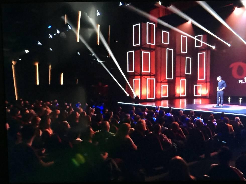 Espectáculo protagonizado por Dani Rovira en el teatro Soho de Málaga, el pasado 14 de noviembre.