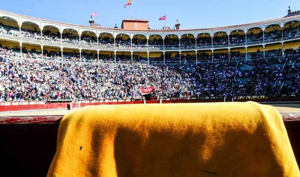 Tarde de toros en Madrid.