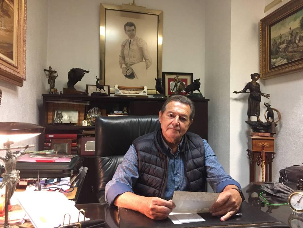 Pepe Luis Segura, en su despacho sevillano.