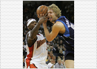 Nowitzki se venga de los Warriors