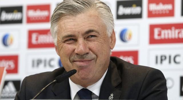 Ancelotti, na coletiva de imprensa prévia ao partido de Copa./ Foto: EFE/ Vídeo: ATLAS