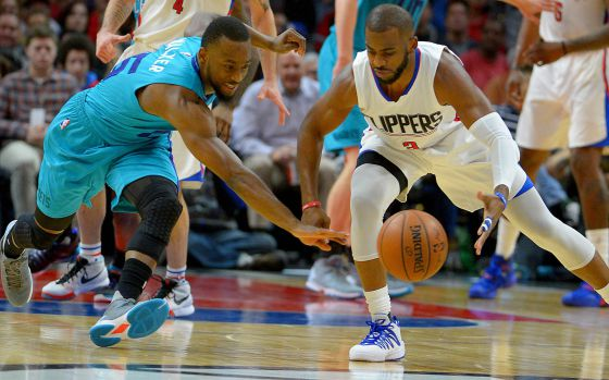 Kemba Walker y Chris Paul.