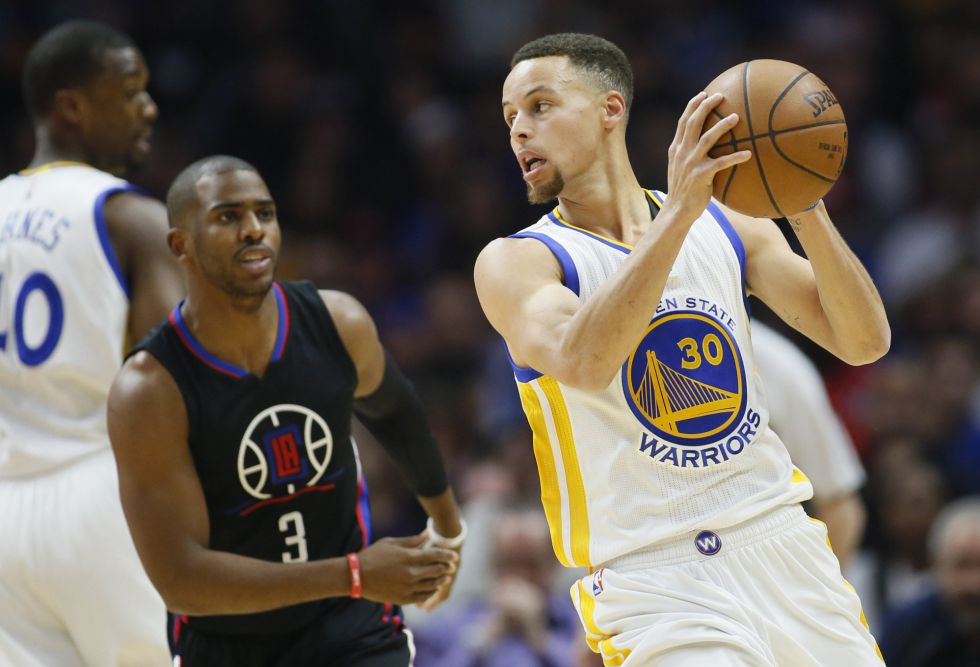 Stephen Curry y Chris Paul.