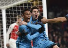 Messi derriba al Arsenal