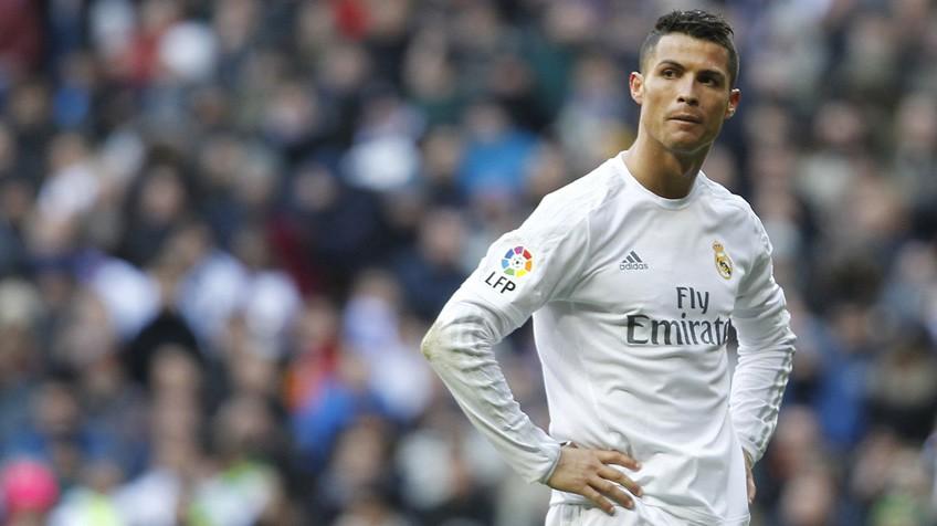 Cristiano Ronaldo, durante o partido.