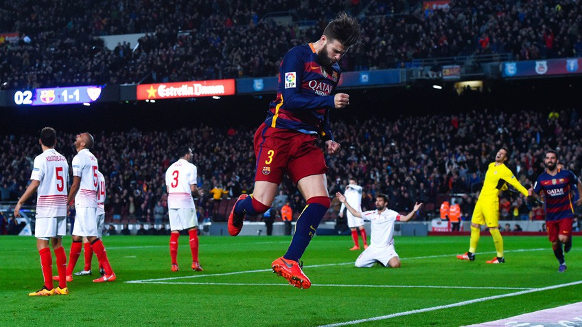 Gigante Sevilla, indesmayable Barcelona
